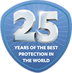 25 years protection